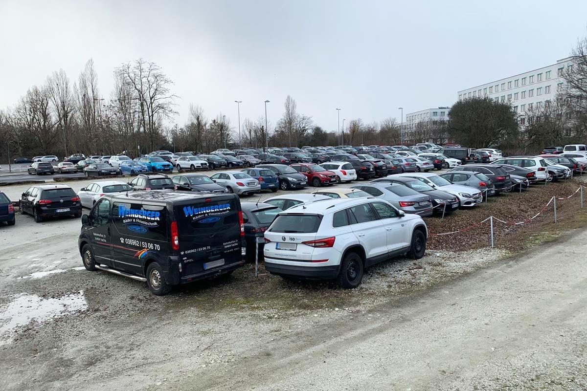 Parkplatz ParkDa24